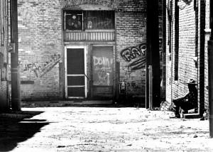 Alley in Taylor, Texas (1996)